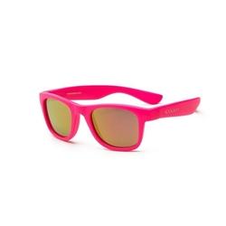 Okulary przeciwsłoneczne koolsun wave neon pink 3-10 lat