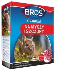Bros, granulat na myszy i szczury, 2,5 kg