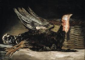 Reprodukcja pavo muerto, francisco goya
