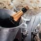 Fototapeta zmrożony szampan fp 973