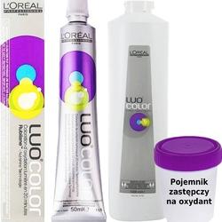 Loreal luo color farba do włosów 50ml + oxydant luo 75ml, zestaw do farbowania włosów 10