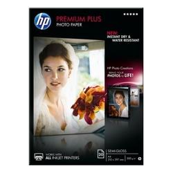 Papier fotograficzny hp premium plus, półbłyszczący – 20 arkuszya4210 x 297 mm
