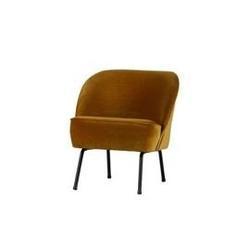 Be pure :: fotel tapicerowany vogue musztardowy