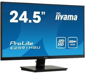IIYAMA Monitor 25 cali E2591HSU-B1 1Ms,USB,HDMI,DP,75Hz.
