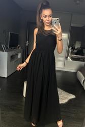 Eva  lola sukienka czarny 42003-1