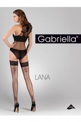 Pończochy samonośne gabriella 428 calze lana n