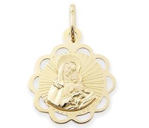 Medalik z wizerunkiem matki bożej - 48570
