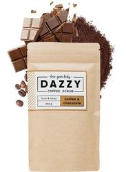 Dazzy peeling kawowy do twarzy i ciała - czekolada 200g