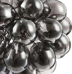 Lampa wisząca szare, szklane bańki balbo maytoni modern mod112-08-n