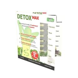 Noble health premium wellness detox max suplement diety wspomagający detoksykację organizmu 21 kapsułek
