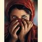 Afghan girl steve mccurry - plakat
