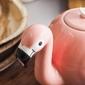 Dzbanek porcelanowy flaming różowy 900 ml