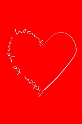 Listen to your heart - plakat
