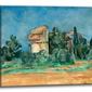 The pigeon tower at bellevue, paul cézanne - obraz na płótnie