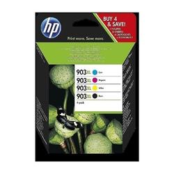 Hp inc. wkłady atramentowe 903xl 4-pack cmyk 3hz51ae