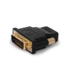 Elmak Adapter HDMI AF - DVI-D M 24+1 Savio CL-21 10szt. paczka, złote kontakty