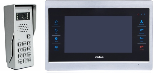 Wideodomofon vidos m901s50d - możliwość montażu - zadzwoń: 34 333 57 04 - 37 sklepów w całej polsce