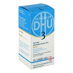 Biochemie dhu 3 fosforan żelaza d 12 karto tabletki