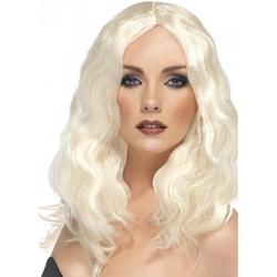 Peruka platynowy blond
