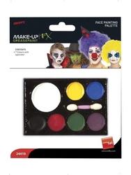Zestaw farb do twarzy i ciała 7 kolorów