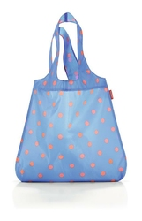 Torba na zakupy mini maxi shopper azure dots