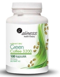 Aliness green coffee zielona kawa 3200 x 100 kapsułek