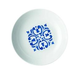 Guzzini - tiffany - talerz głęboki le maioliche, granatowy - niebieski