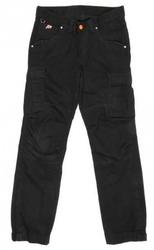 Spodnie 115 jeans black kolor czarny- bez ochraniaczy
