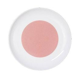 Talerz płaski 22 cm New Atelier Mix  Match czerwony
