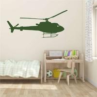 Szablon na ścianę helikopter 2302