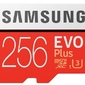 Samsung karta pamięci mb-mc256haeu evo+ msd +adapter