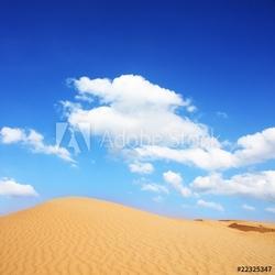 Fotoboard na płycie pustynna sahara