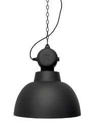 HK Living :: Lampa wisząca FACTORY L czarny mat