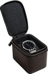 Pudełko na zegarki podróżne stackers jednokomorowe brązowe