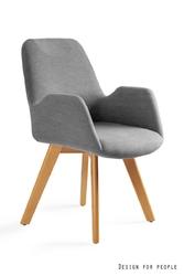 Unique krzesło line 9-158e-mz czarny, szary --- oficjalny sklep unique