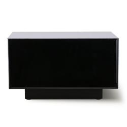 Hkliving stolik lustrzany block czarny, rozm l mta2829