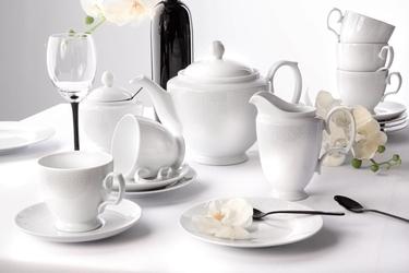 Zestaw kawowy  garnitur do kawy dla 6 osób porcelana mariapaula amore 21 elementów