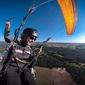 Lot paralotnią z akrobacjami i wideofilmowaniem - trójmiasto