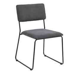 Krzesło nowoczesne lili szary