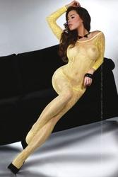 Bodystocking abra yellow