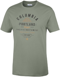 T-shirt męski columbia leathan trail em0729316