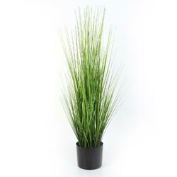 Wysoka trawa sztuczna w donicy