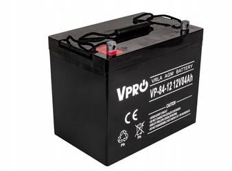 Akumulator żelowy agm 12v 84ah do ups volt polska