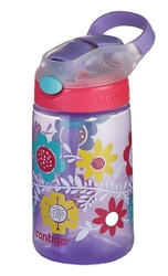 Bidon dla dzieci kubek dla dzieci contigo gizmo flip 420ml - wisteria flowers on the vine - fioletowy